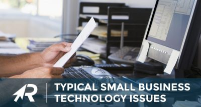 typical small business technology issues
