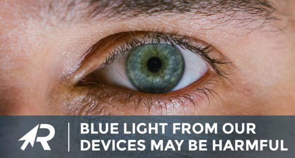 why blue light from our devices may be harmful